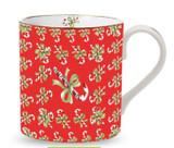 Halcyon Days Candy Cane Mug , MPN: BCCDC06MGG