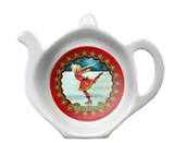 Halcyon Days Christmas Ice Skating Tea Bag Tidy, MPN: BCSKA06TBN