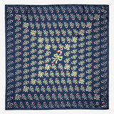 Halcyon Days Candy Cane Fade Navy 90x90 100% Silk Scarf, MPN: SACCF11SS90