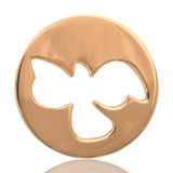 Nikki Lissoni Free As A Bird Gold Plated Coin 33mm Coin, MPN: C1001GM UPC: 8718627460030