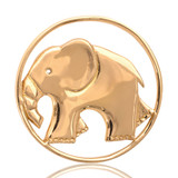 Nikki Lissoni As Strong As An Elephant Gold Plated 33mm Coin, MPN: C1002GM UPC: 8718627460061