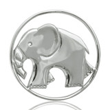 Nikki Lissoni As Strong As An Elephant Silver Plated 33mm Coin, MPN: C1002SM UPC: 8718627460085
