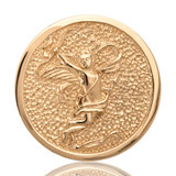 Nikki Lissoni Cupid Gold Plated 33mm Coin, MPN: C1007GM UPC: 8718627460214