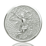 Nikki Lissoni Cupid Silver Plated 33mm Coin, MPN: C1007SM UPC: 8718627460238