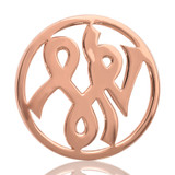 Nikki Lissoni Courage Rose Gold Plated 33mm Coin, MPN: C1008RGM UPC: 8718627460252