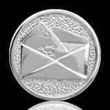 Nikki Lissoni Love Letter Two-Sided Silver Plated 33mm Coin, MPN: C1009SM UPC: 8718627460290