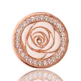 Nikki Lissoni Vintage Rose Rose Gold Plated 23mm Coin, MPN: C1015RGS UPC: 8718627460467