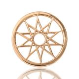 Nikki Lissoni Dreamcatcher Gold Plated 23mm Coin, MPN: C1034GS UPC: 8718627461020