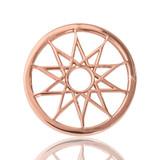 Nikki Lissoni Dreamcatcher Rose Gold Plated 23mm Coin, MPN: C1034RGS UPC: 8718627461037