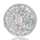 Nikki Lissoni Kingdom Of Roses Silver Plated 33mm Coin, MPN: C1041SM UPC: 8718627461310