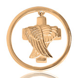 Nikki Lissoni Angels Never Die Gold Plated Ash Coin 33mm Coin, MPN: C1046GM UPC: 8718627461419