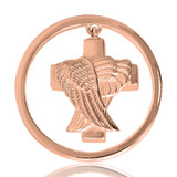 Nikki Lissoni Angels Never Die Rose Gold Plated Ash Coin 33mm Coin, MPN: C1046RGM UPC: 8718627461426