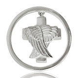 Nikki Lissoni Angels Never Die Silver Plated Ash Coin 33mm Coin, MPN: C1046SM UPC: 8718627461433