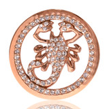 Nikki Lissoni I Will Protect You Rose Gold Plated 33mm Coin, MPN: C1052RGM UPC: 8718627461570