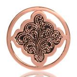 Nikki Lissoni Henna Dream Rose Gold Plated 33mm Coin, MPN: C1078RGM UPC: 8718627462102