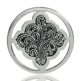 Nikki Lissoni Henna Dream Silver Plated 33mm Coin, MPN: C1078SM UPC: 8718627462119