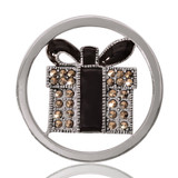 Nikki Lissoni My Present For You Silver Plated 33mm Coin, MPN: C1079SM UPC: 8718627462140