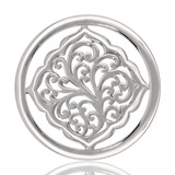 Nikki Lissoni Vintage Nature Silver Plated 33mm Coin, MPN: C1089SM UPC: 8718627462263
