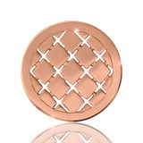 Nikki Lissoni Lazy Sunday Rose Gold Plated 23mm Coin, MPN: C1094RGS UPC: 8718627462317