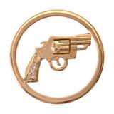 Nikki Lissoni Bang Bang Gold Plated 33mm Coin, MPN: C1102GM UPC: 8718627462393