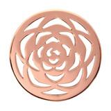 Nikki Lissoni Rose Large Rose Gold Plated 33mm Coin, MPN: C1118RGM UPC: 8718627462591