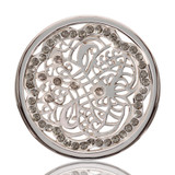 Nikki Lissoni Vintage Ornament Silver Plated 33mm Coin, MPN: C1123SM UPC: 8718627462652