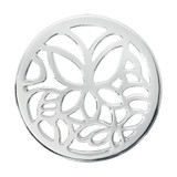 Nikki Lissoni Butterfly Silver Plated 33mm Coin, MPN: C1132SM UPC: 8718627462782