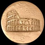 Nikki Lissoni Rome Colosseum Gold Plated 43mm Coin, MPN: C1146GL UPC: 8718627462980