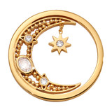 Nikki Lissoni Moon Goddess Coin Gold Plated 33mm Coin, MPN: C1674GM UPC: 8719075308370