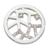 Nikki Lissoni Back To My Roots Coin Silver Plated 23mm Coin, MPN: C1677SS UPC: 8719075308400