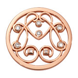 Nikki Lissoni Follow Your Dream Coin Rose Gold Plated 33mm Coin, MPN: C1678RGM UPC: 8719075308417