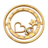 Nikki Lissoni Best Kept Secret Coin Gold Plated 33mm Coin, MPN: C1680GM UPC: 8719075308431