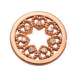 Nikki Lissoni Counting Love Stars Coin Rose Gold Plated 23mm Coin, MPN: C1693RGS UPC: 8719075308561