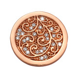 Nikki Lissoni Flawless Coin Rose Gold Plated 23mm Coin, MPN: C1698RGS UPC: 8719075308646