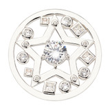 Nikki Lissoni Charming Star Coin Silver Plated 33mm Coin, MPN: C1710SM UPC: