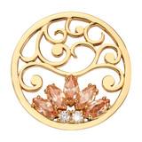 Nikki Lissoni Golden Romance Coin Gold Plated 33mm Coin, MPN: C1715GM UPC: