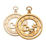 Nikki Lissoni Best Kept Secret Earring Coins Gold Plated 19mm Coin, MPN: EAC2077GM UPC: 8719075308783
