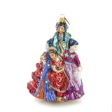 Jay Strongwater Nine Ladies Dancing Glass Ornament, MPN: SDH20006-250