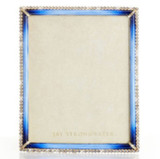 """Jay Strongwater Laetitia Stone Edge 8"""" x 10"""" Picture Frame, MPN: SPF5512-261"""