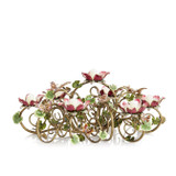 Jay Strongwater Floral & Butterfly Candelabra, MPN: SDH2366-476