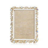 """Jay Strongwater Bejeweled 5"""" x 7"""" Picture Frame, MPN: SPF5844-219"""