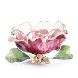 Jay Strongwater Large Flower Bowl, MPN: SDH2402-456
