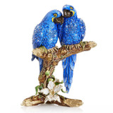 Jay Strongwater Macaws on Branch Figurine, MPN: SDH1942-228