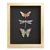 Jay Strongwater Butterfly Dragonfly Moth Wall Art, MPN: SHW3328-250