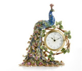 Jay Strongwater Peacock Clock - 25th Anniversary, MPN: SDH6062-208