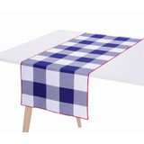 Le Jacquard Francais Table Runner Elysee Tricolor 50 x 150 100% Cotton, MPN: 26664, EAN: 3660269266646