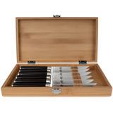 Shun Classic 6 Piece Steak Knife Set, MPN: DMS0660, EAN/UPC: 87171056456