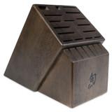Shun 22-Slot Block Walnut Stain, MPN: DM0854, EAN/UPC: 87171058757