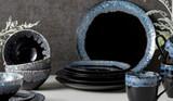 Casafina Taormina Black 16 Piece Dinnerware Set, MPN: TA13581816-BLK, UPC: 840289087527, EAN: