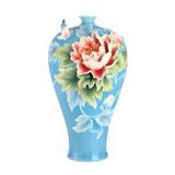 Franz Porcelain Wealth and Blessings Porcelainl Vase, MPN: FZ03081